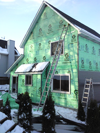 Aluminum Siding project in Maple Grove, MN